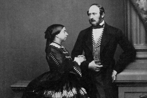Queen Victoria and Prince Albert in 1861, shortly before his death (Getty)