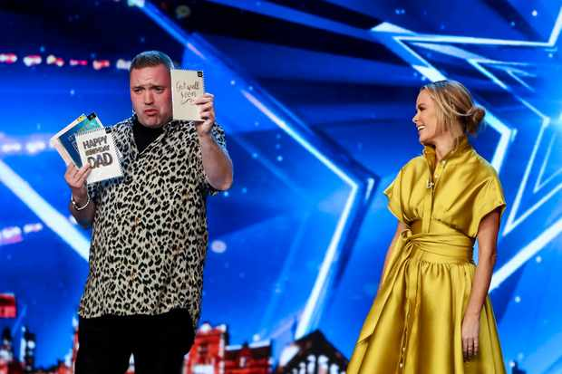 Britains Got Talent, Graeme Mathew (©Syco/Thames)