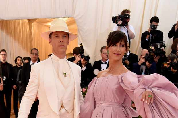 Image result for Benedict cumberbatch met gala