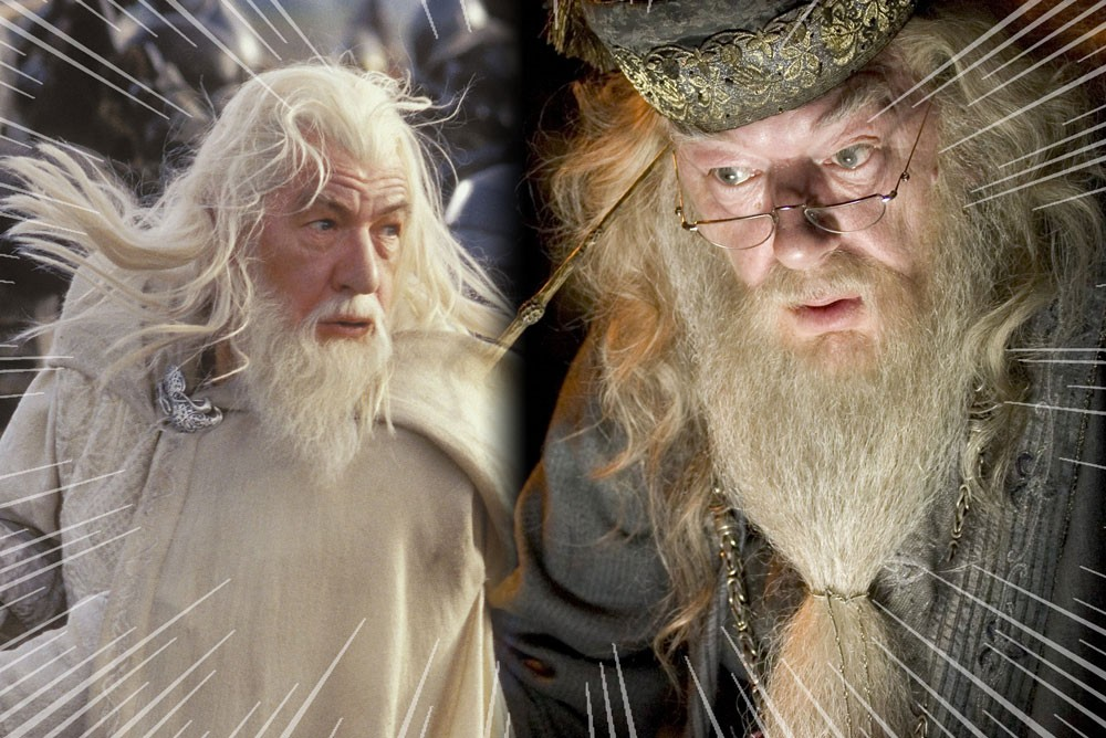 Dumbledore and gandalf