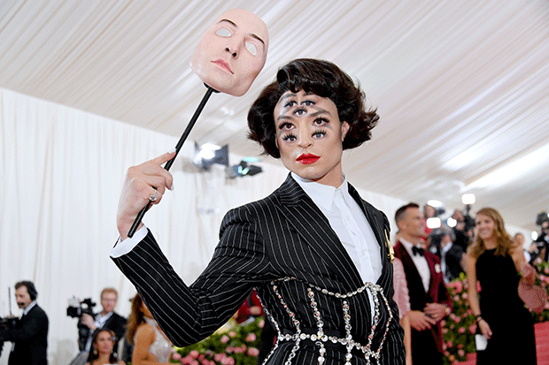 Ezra Miller at the Met Gala, Getty