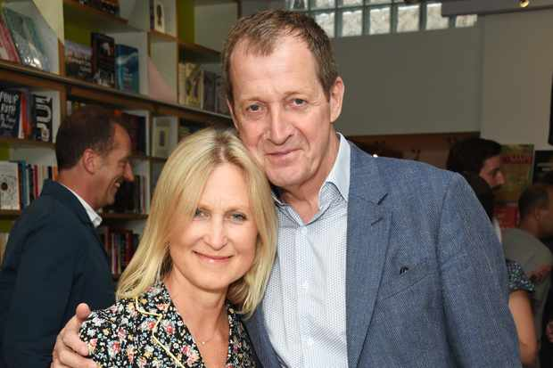 Fiona Miller and Alastair Campbell (Getty Images)