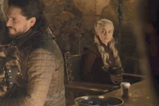 Game of Thrones coffee cup screenshot