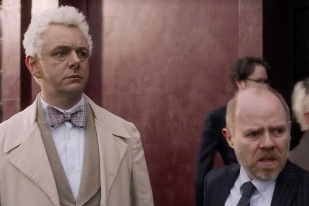 Michael Sheen in Good Omens