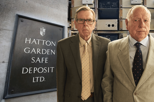 Hatton Garden, Getty and ITV Pictures