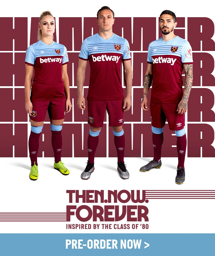West Ham home kit
