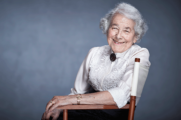 Judith Kerr for Radio Times, Ian Derry