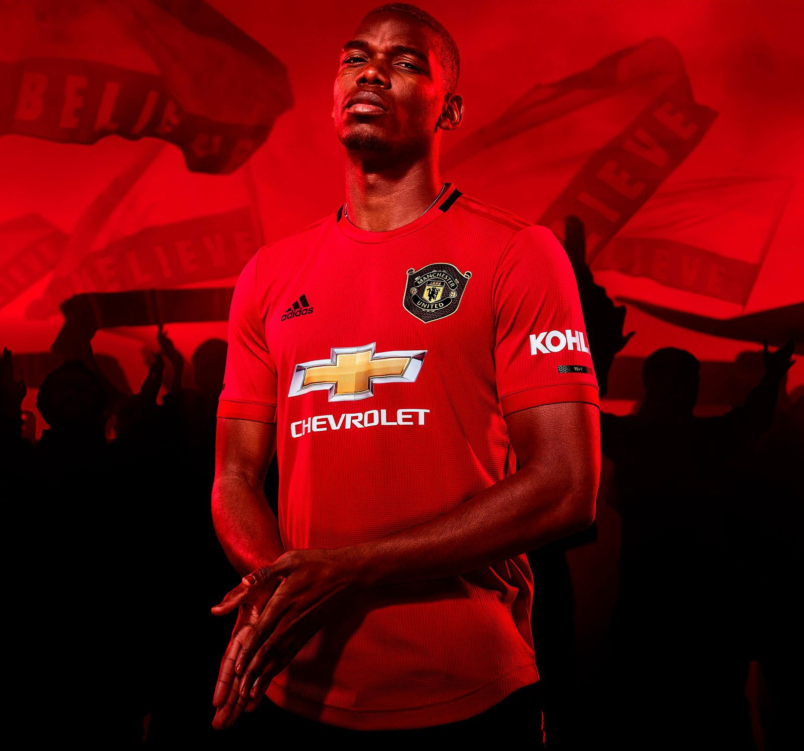 wholesale dealer 780be 4d92f Man Utd kit 2019/20: Home and away shirts unveiled - Radio Times