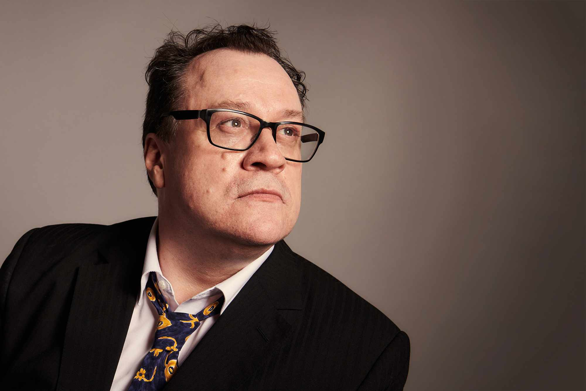 Screenwriter Russell T Davies, exclusively photographed for Radio Times by Ray Burmiston