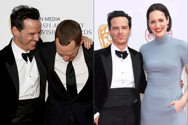 Benedict cumberbatch and Andrew scott are really good ...  |Andrew Scott And Benedict Cumberbatch In Pajamas