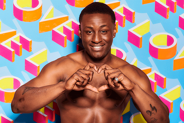 Sherif in Love Island, ITV EMBARGOED