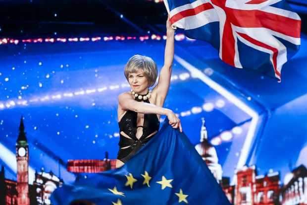 Theresa May BGT (ITV)