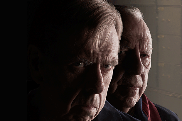 Timothy Spall as Terry Perkins and Kenneth Cranham as Brian Reader in Hatton Garden, ITV Pictures