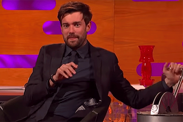 Jack Whitehall on Graham Norton Show, YouTube