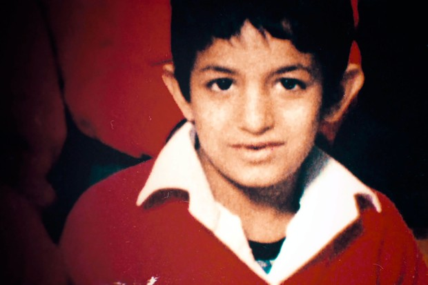 Mohammed Emwazi as a young boy