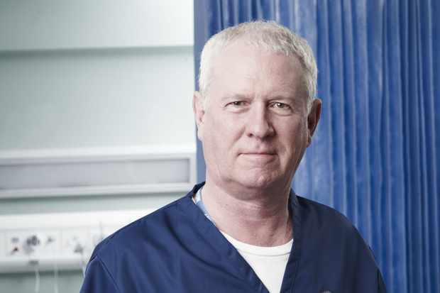 WARNING: Embargoed for publication until 14:59:45 on 03/01/2012 - Programme Name: Casualty - Portraits - TX: n/a - Episode: Casualty - Portraits (No. n/a) - Picture Shows: Charlie Fairhead (DEREK THOMPSON) - (C) BBC - Photographer: Phil Fisk