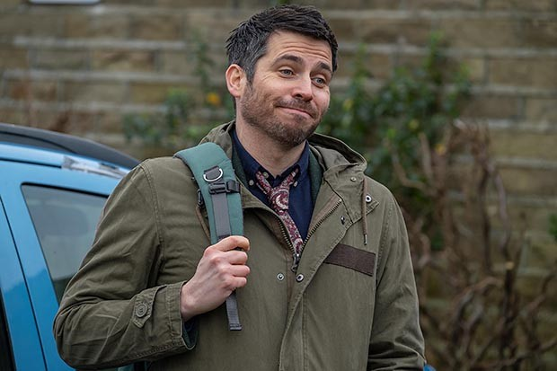 Robert James-Collier plays Martin Evershed in Ackley Bridge