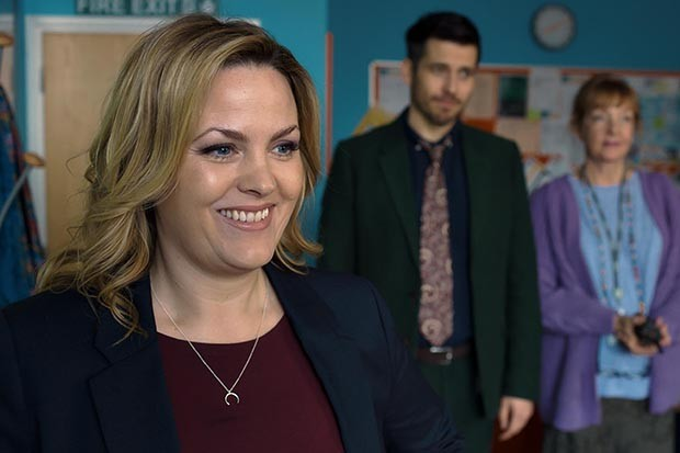 Jo Joyner plays Mandy in Ackley Bridge