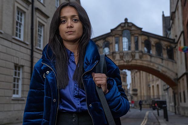 Amy-Leigh Hickman plays Nasreen Paracha in Ackley Bridge