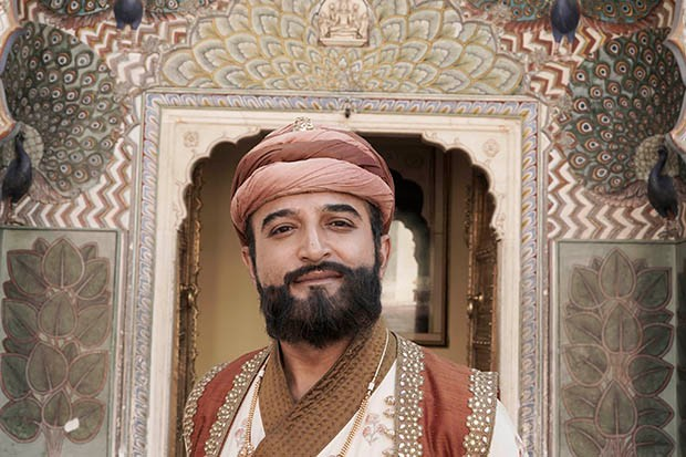 Adil Ray plays Murad Beg in Beecham House