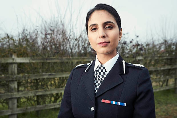 Anjli Mohindra plays ACC Lydia Price in Wild Bill