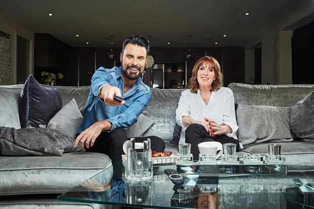 Rylan and Linda CELEBRITY GOGGLEBOX (Channel 4)