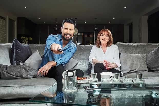 Rylan and Linda CELEBRITY GOGGLEBOX (Channel 4)