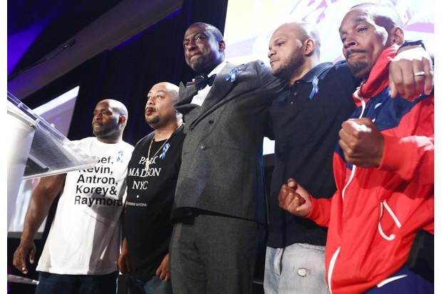 Central Park Five in 2019