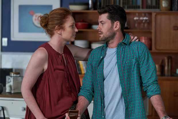 Home and Away Brody Morgan (Jackson Heywood) Simone Bedford (Emily Eskell)