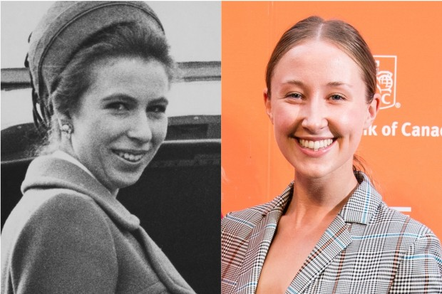 Erin Doherty plays Princess Anne in The Crown