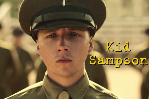 Gerran Howell plays Kid Sampson in Catch-22