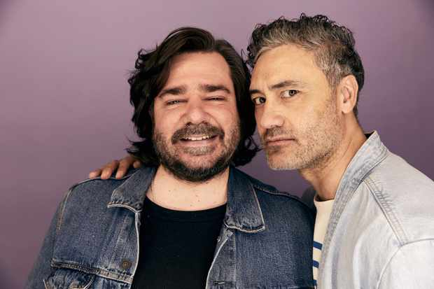 Matt Berry and Taika Waititi