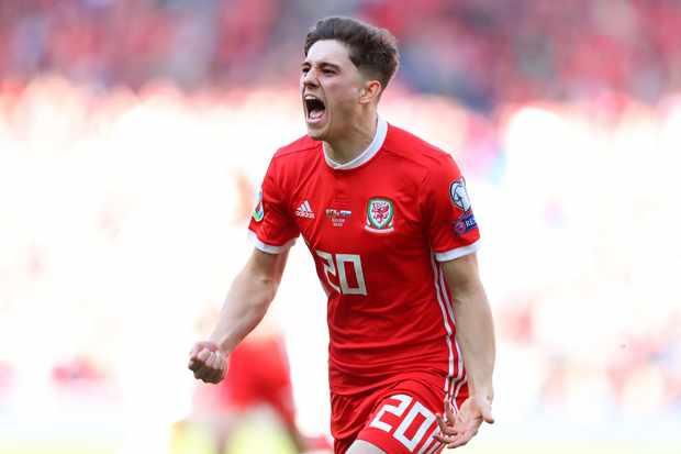 Wales Daniel James