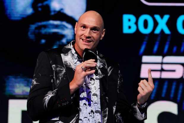 Tyson Fury V Tom Schwarz Watch On Tv Live Stream Date Uk