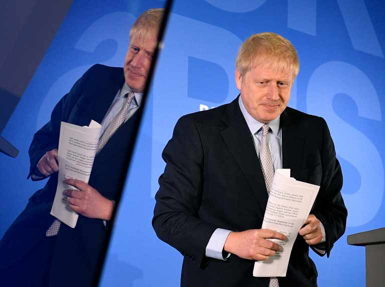 Why is Boris Johnson not taking part in Channel 4's Conservative leadership debate?