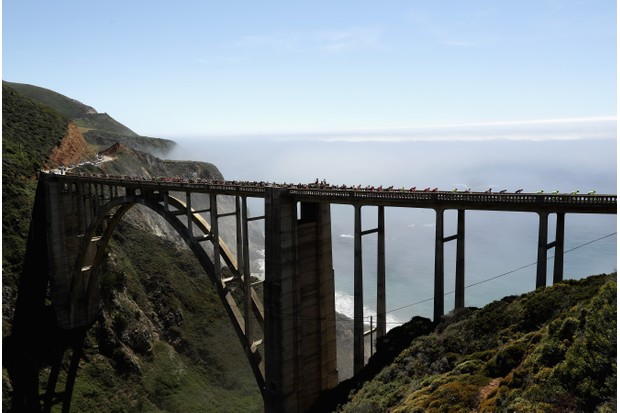 Bixby Bridge in Big Sur, California. (Getty Images)