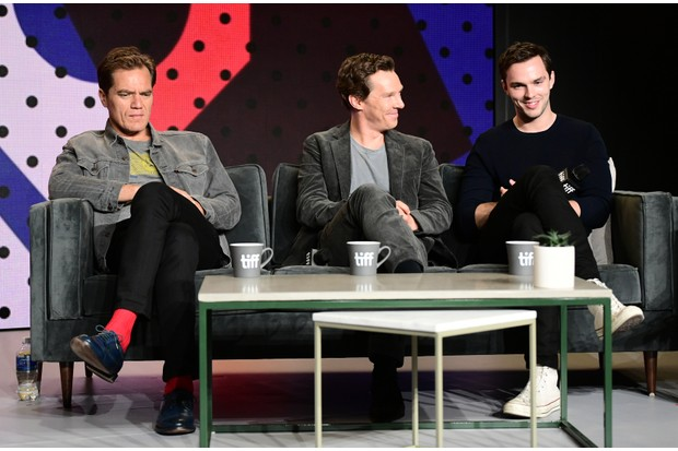 Michael Shannon, Benedict Cumberbatch and Nicholas Hoult