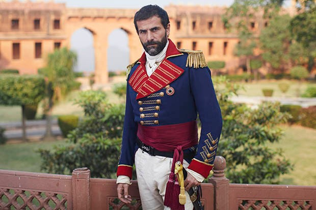 Grégory Fitoussi plays General Castillion in Beecham House