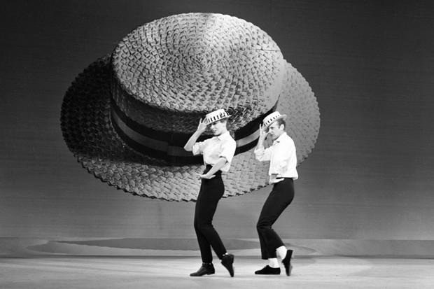 Gwen Verdon and Bob Fosse in 1962