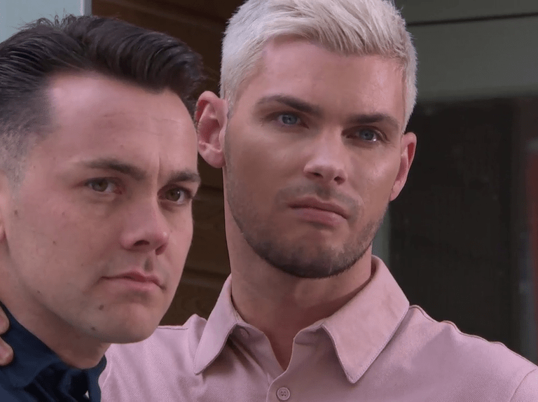 Ste stands by Jonny in Hollyoaks after huge lie revealed – Ray Quinn reacts to far right twist