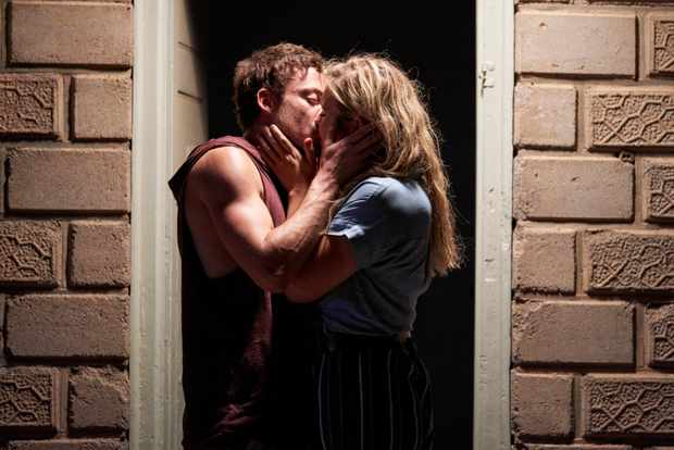 Home and Away Dean (Patrick O'Connor) Ziggy (Sophie Dillman)