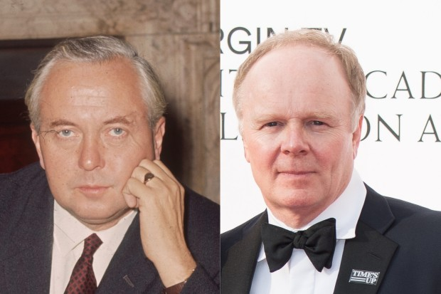 Jason Watkins plays Harold Wilson in The Crown