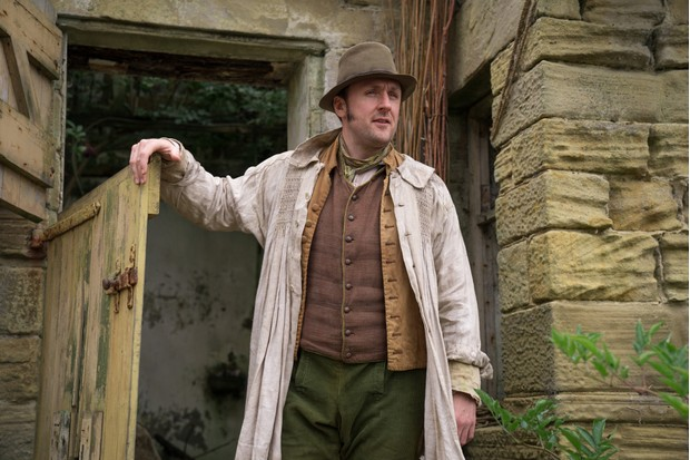 Joel Morris plays William Hardcastle in Gentleman Jack