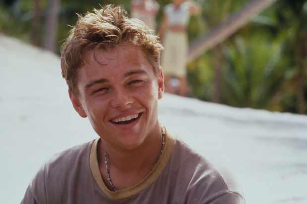 Leonardo DiCaprio (as Richard) in THE BEACH.