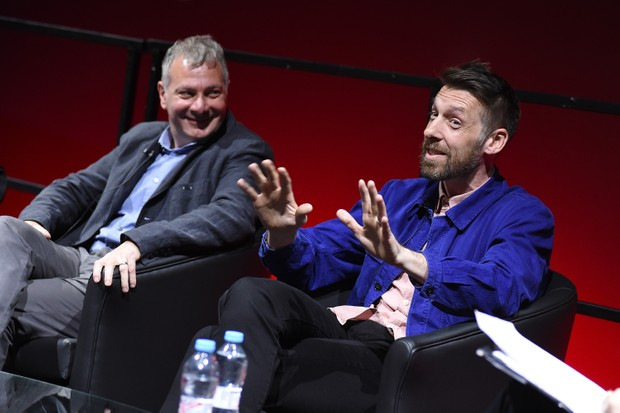 Line of Duty's Jed Mercurio and Craig Parkinson