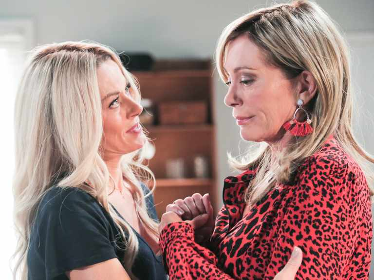 Andrea meets her match as mum Heather returns in Neighbours