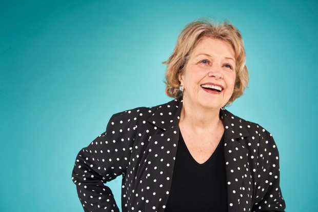 Anne Reid who plays Muriel in Years and Years, photographed at the BFI/Radio Times Festival 2019