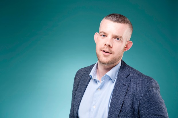 Russell Tovey who plays Daniel Lyons in Years and Years, photographed at the BFI/Radio Times Festival 2019