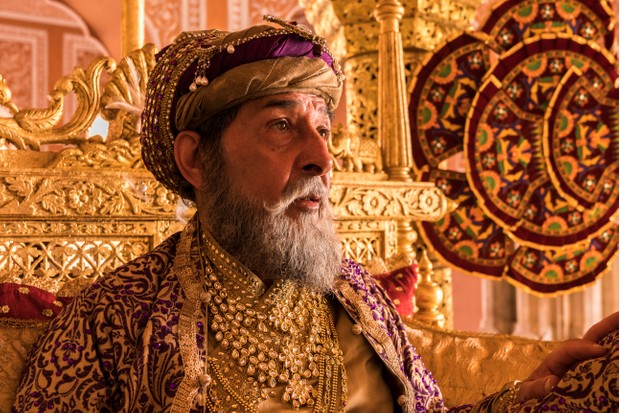 Roshan Seth plays Emperor Shah Alam in Beecham House