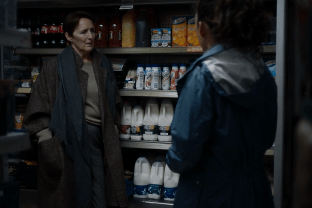 Carolyn recruits Eve as a special agent in the milk aisle, Killing Eve